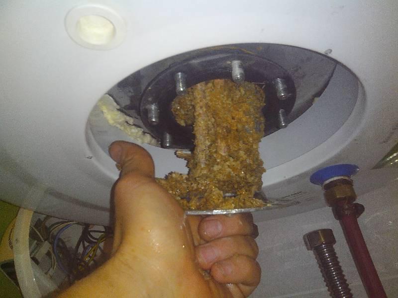 Жертвенный электрод в бойлере: функции, обслуживание