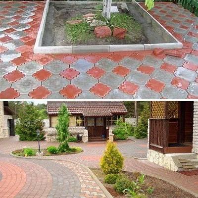 Укладка тротуарной плитки на бетонное основание: поэтапная технология