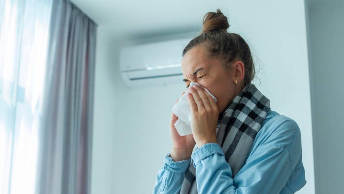 Как лечить простуду от кондиционера? можно ли заболеть от кондиционера в помещении и как этого избежать