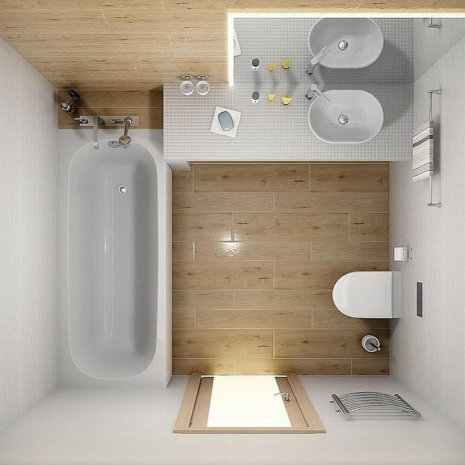 Планировка ванной комнаты — как сделать с учетом размеров, чтобы было удобно и красиво - 31 фото