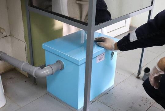 Жироуловитель для канализации из столовой или кухни - устройство и порядок монтажа