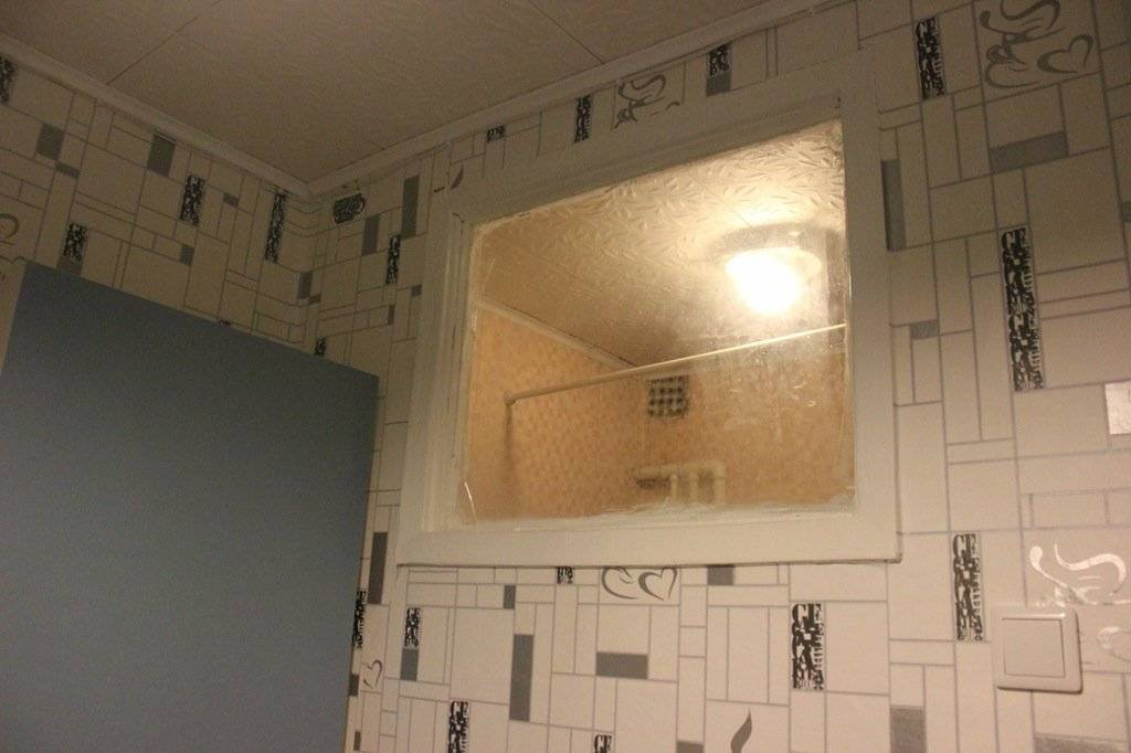 Тайны советской планировки. зачем окно между ванной и кухней?