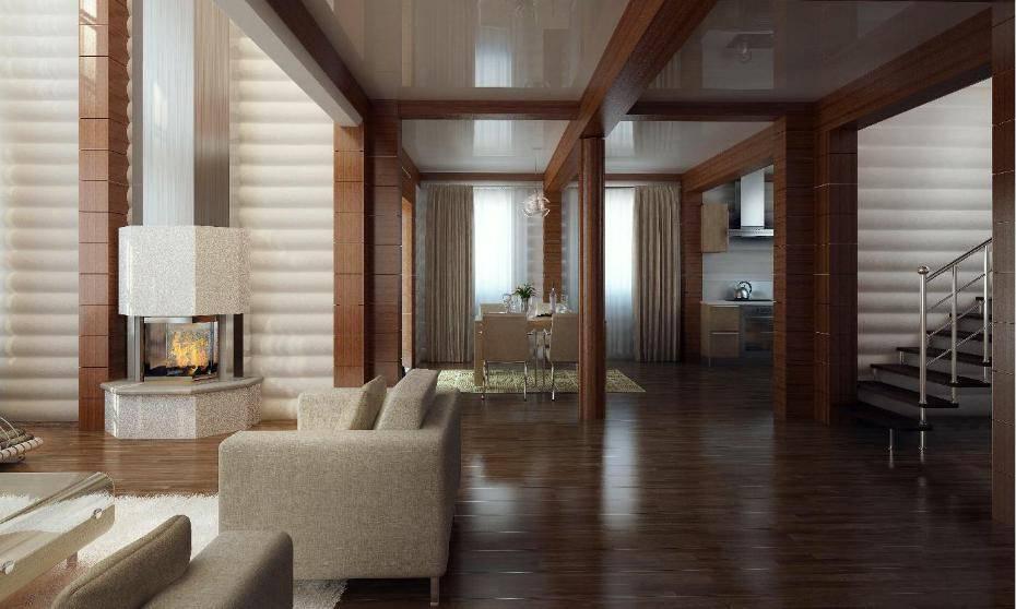 Отделка деревом внутри дома фото – отделка деревянного дома внутри: технологии, примеры, технические нюансы