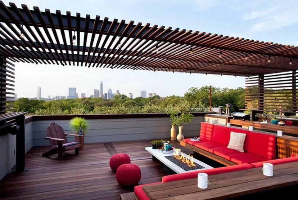 Как сделать террасу на крыше своего дома? устройство лестницы, гидро- и теплоизоляции