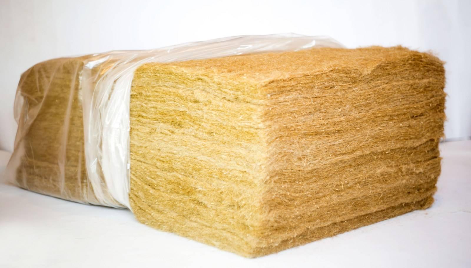 Льняной утеплитель для деревянного и кирпичного дома