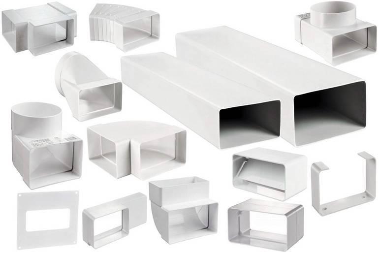 Пластиковые воздуховоды для вентиляции: виды и размеры