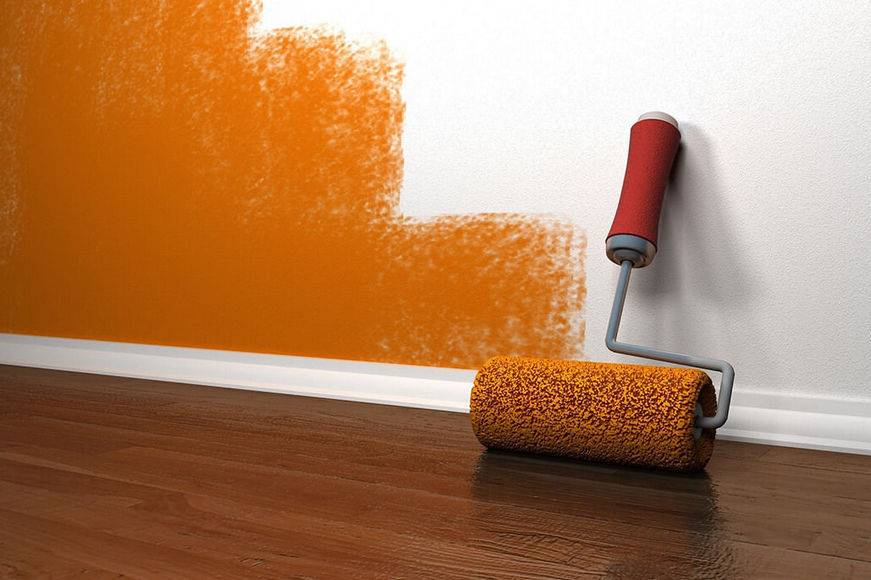 Тонкости покраски водоэмульсионной краской