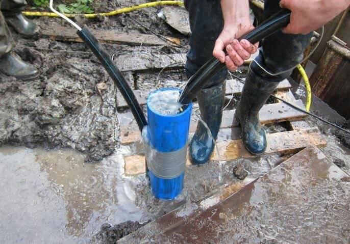 Способы прочистки источника водоснабжения