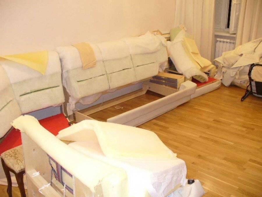 Как перетянуть угловой диван своими руками пошагово - ctdimm.com