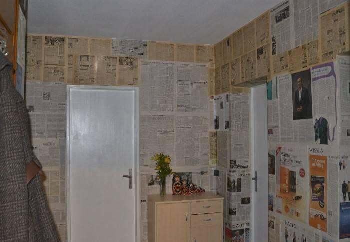 Зачем раньше в квартирах под обои на стены клеили газеты и почему этого не делают сейчас?