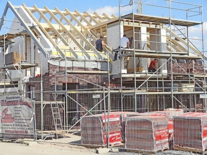 Строительство дома по немецкой технологии: пример немецкой технологии строительства домов с пошаговой инструкцией