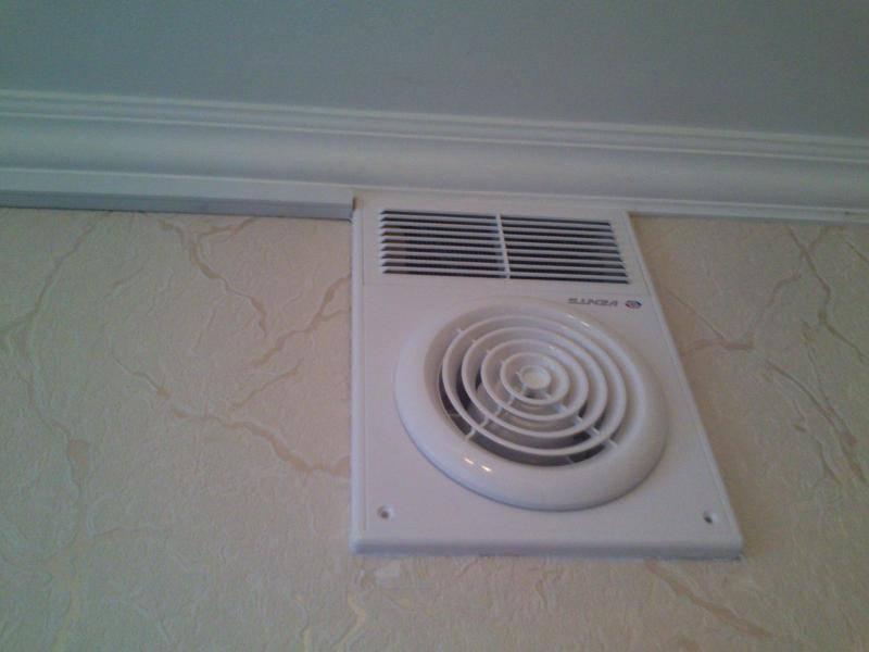 Правильная вентиляция в ванной комнате и туалете в частном доме
