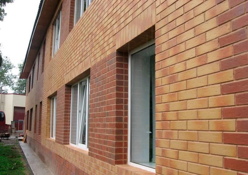 Фасадные панели под кирпич: облицовка дома, внешняя отделка наружной стены