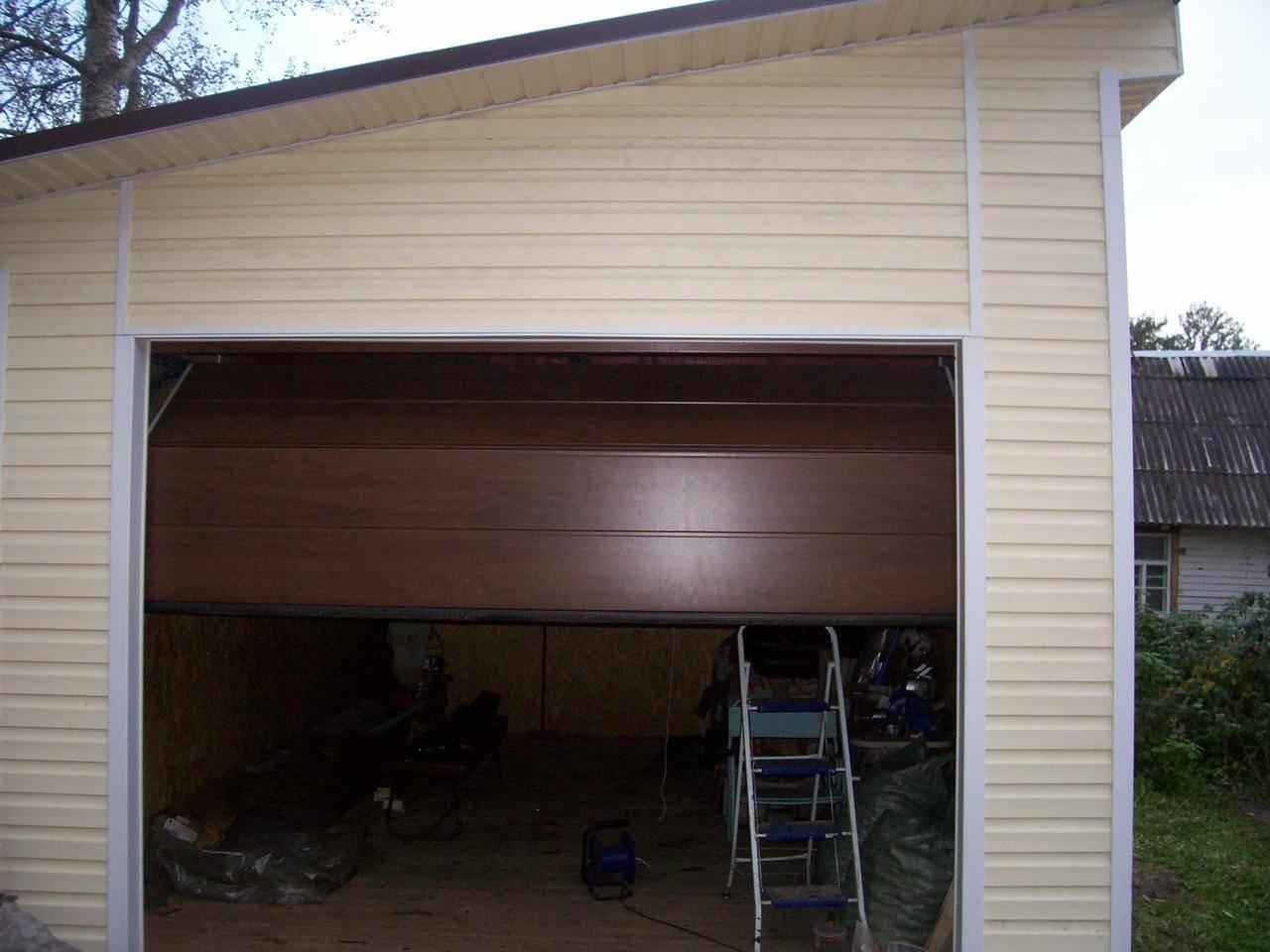 Недорогие варианты наружной отделки стен гаража