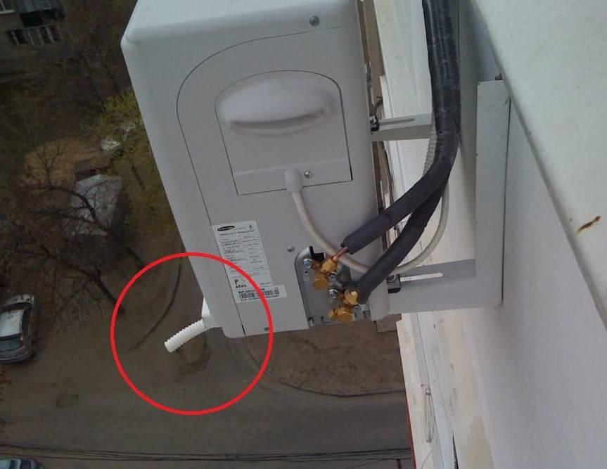 Капает вода из кондиционера внутри помещения: ремонт своими руками