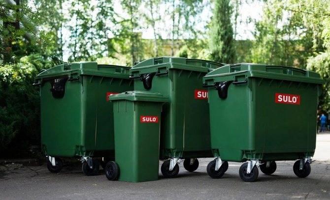 Контейнеры для мусора 8 м3