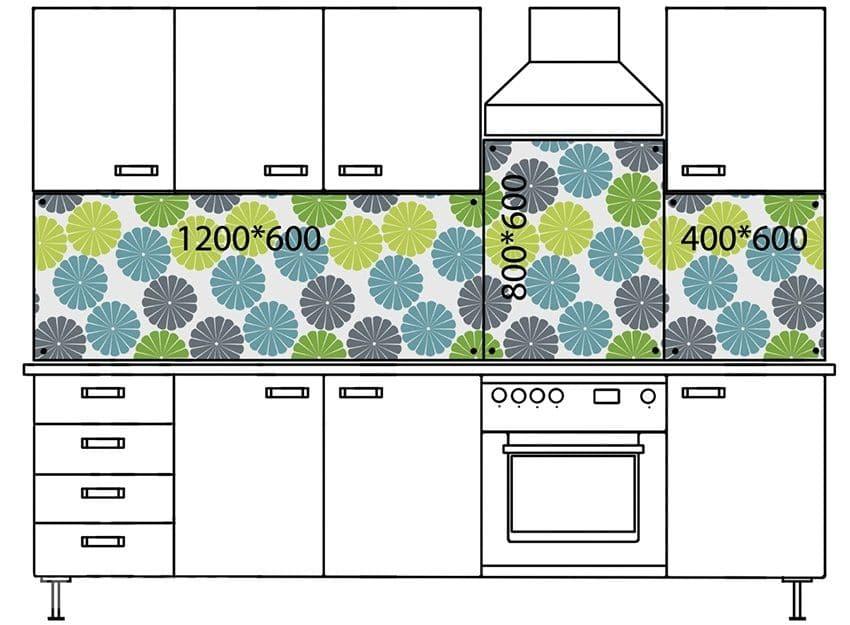 Фартук для кухни своими руками (45 фото): из чего его лучше сделать: из ламината или плитки? можно ли поменять фартук, не снимая шкафы?