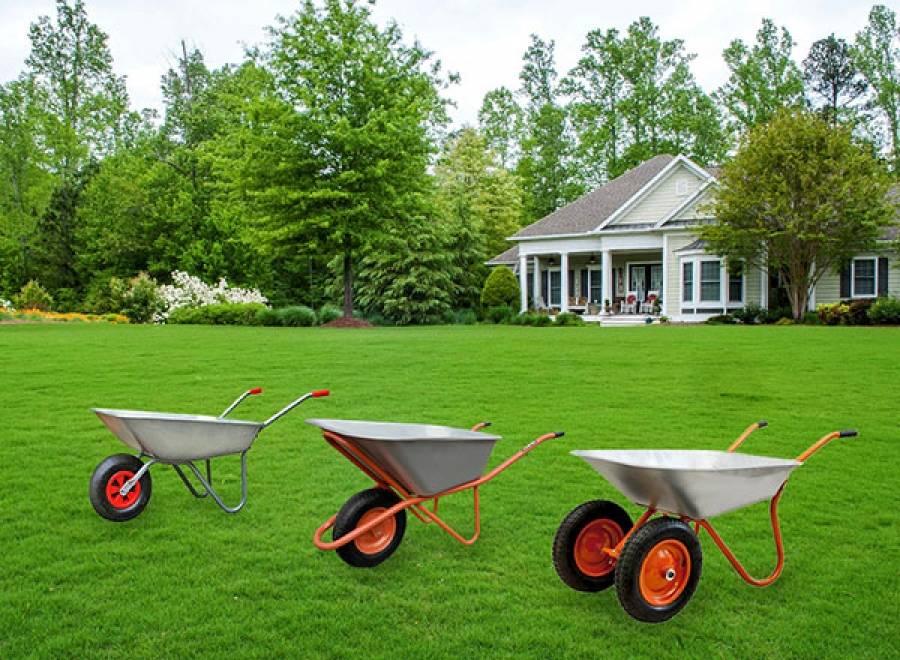 Как выбирают садовые тачки: какая лучше двухколесная или одноколесная