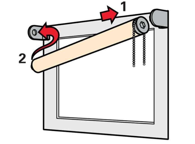 Как повесить жалюзи на пластиковое окно правильно: инструкция, советы + варианты установки