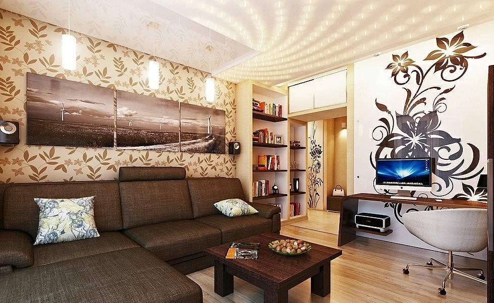 Спальня-гостиная: выбор мебели, варианты планировки и дизайна интерьера