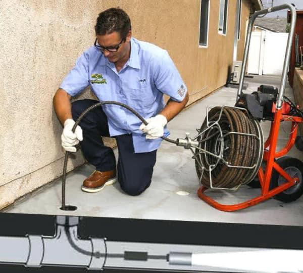 Прочистная машина для прочистки канализации | все о септиках
