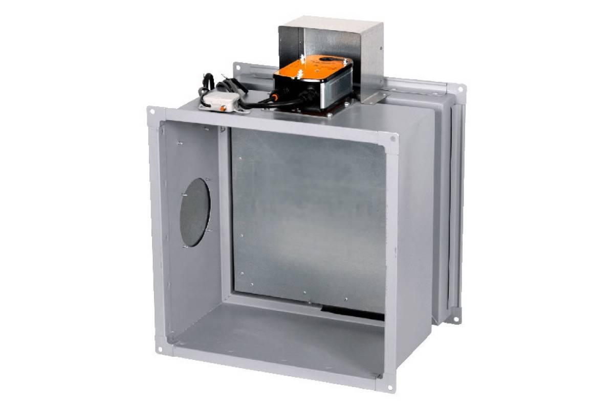 Противопожарные клапаны для систем вентиляции: классификация и принцип работы