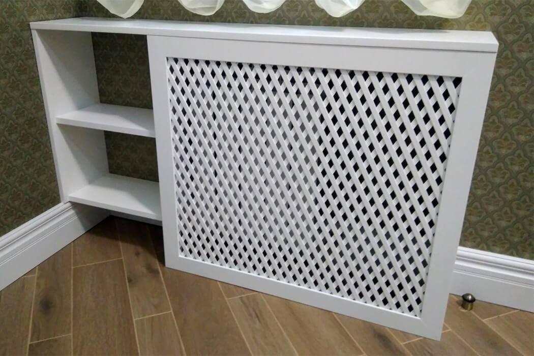 Декоративные решетки для радиаторов отопления и батарей дизайнерские и красивые
