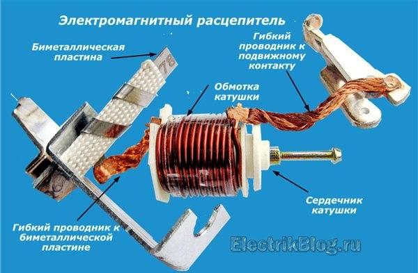 Методические указания по эксплуатации автоматических воздушных выключателей серии ап50
