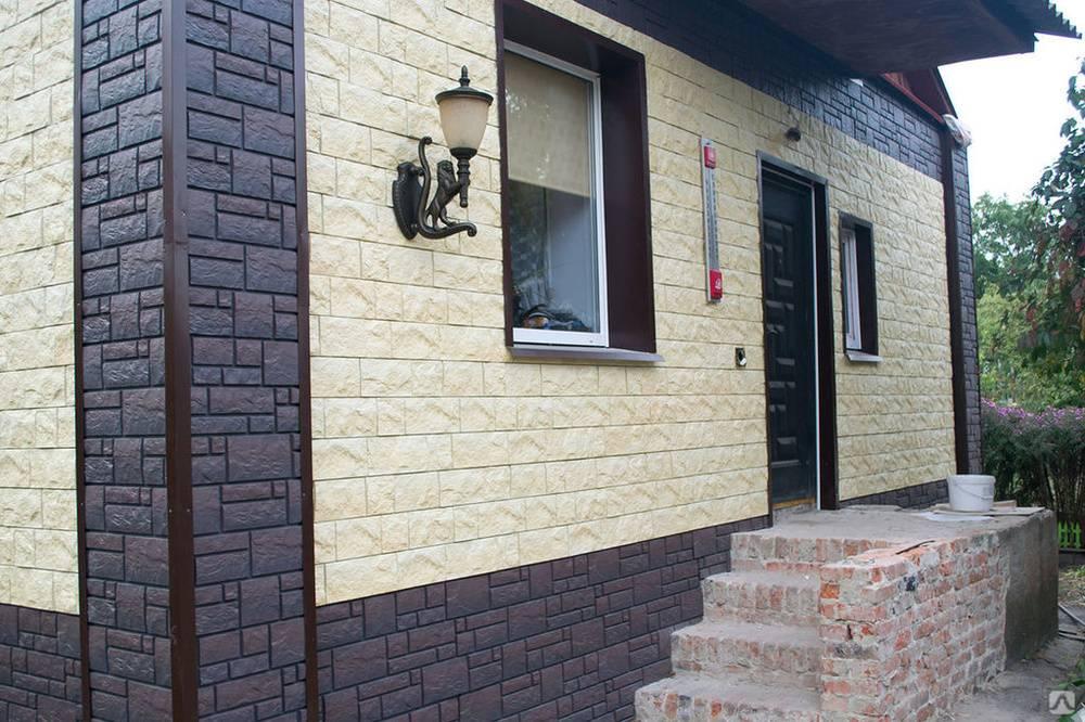Обзор фасадных панелей для наружной отделки дома