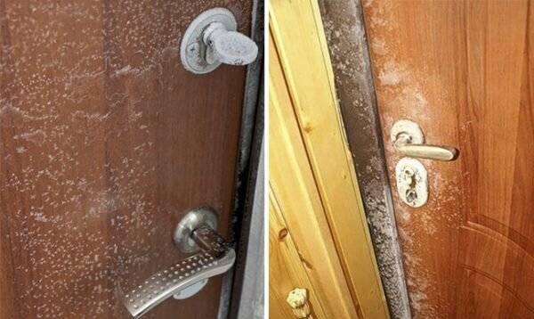 Почему потеет входная дверь? поиск и решение проблемы