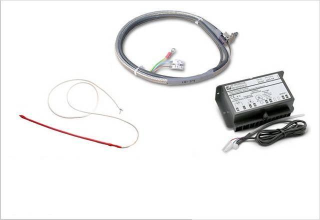 Кондиционер с низкотемпературным комплектом и его датчик температуры