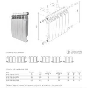 Рейтинг биметаллических радиаторов отопления для квартиры топ-4 - 2021