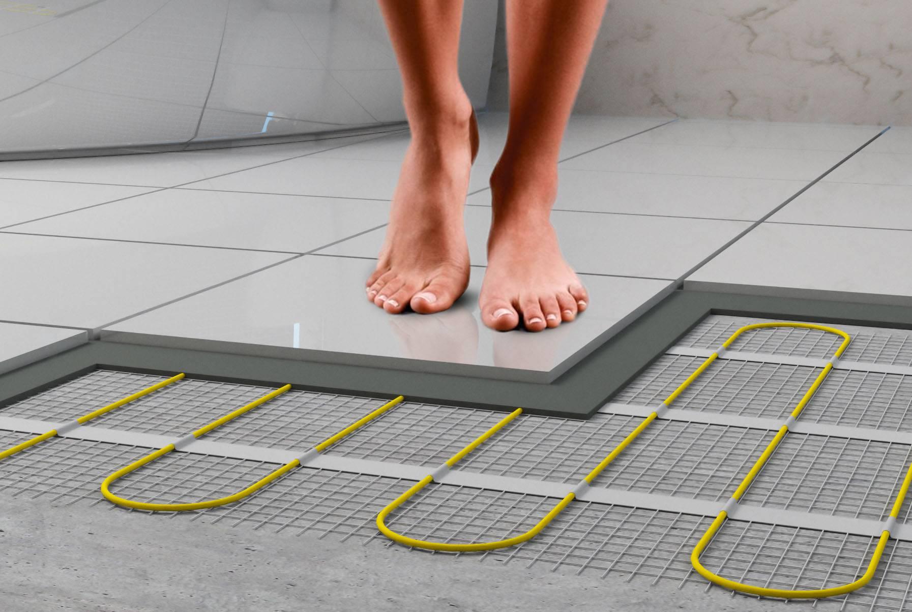 Виды декоративной плитки для укладки на теплые полы. монтаж выбранных элементов
