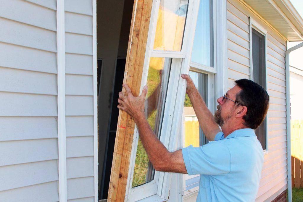 Особенности установки пластиковых окон в каркасном доме