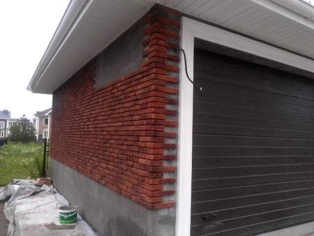 Как обшить гараж профлистом снаружи своими руками: пошаговая инструкция