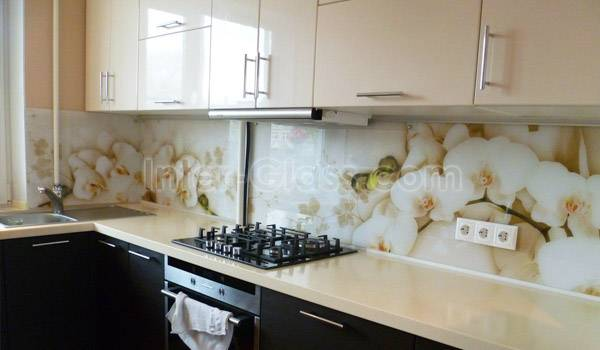 Кухонные фартуки из мдф с фотопечатью (49 фото): отзывы о панелях для кухни