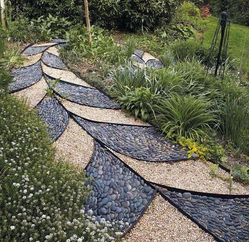 Дорожки на даче своими руками из подручных материалов (45 фото): как сделать дачные садовые дорожки из подручных средств