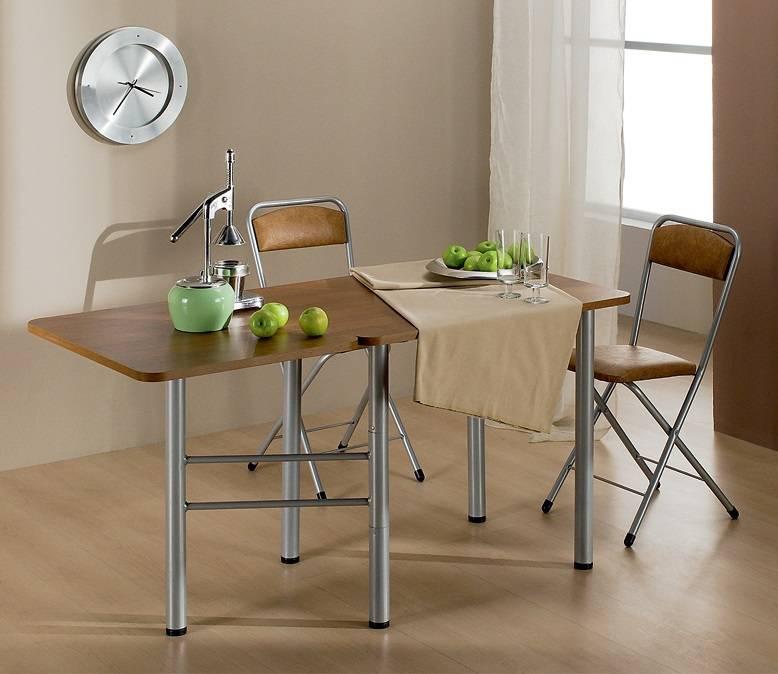 Выбираем раскладной (раздвижной) кухонный столик
