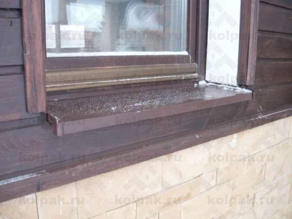 Как крепится отлив к пластиковому окну снаружи - клуб мастеров