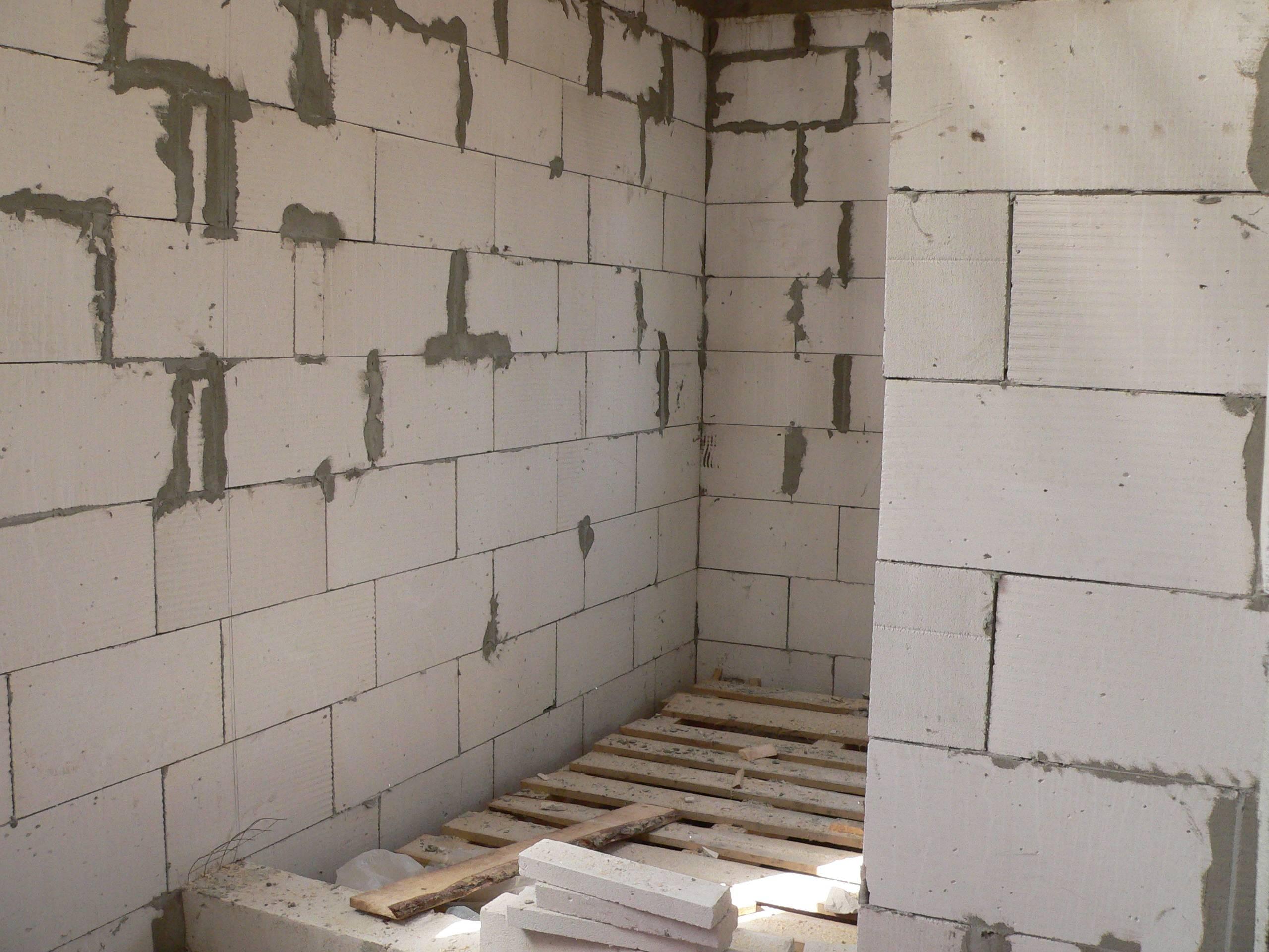 Способы внутренней отделки дома из газобетона