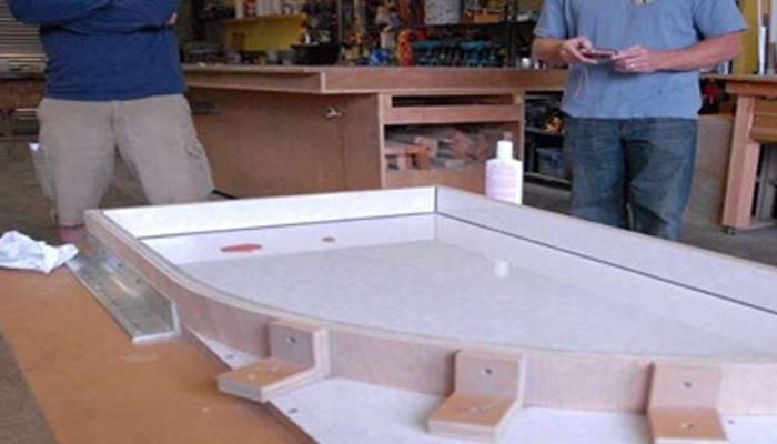 Столешница своими руками - 125 фото вариантов и лучших оригинальных идей дизайна столешниц