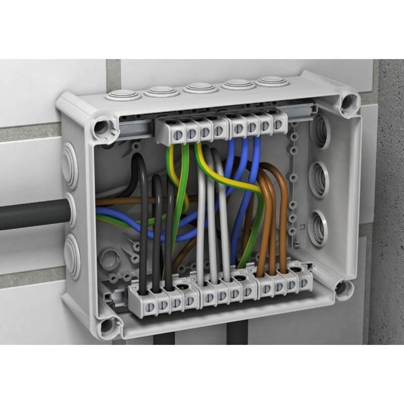 Распределительная коробка для электропроводки