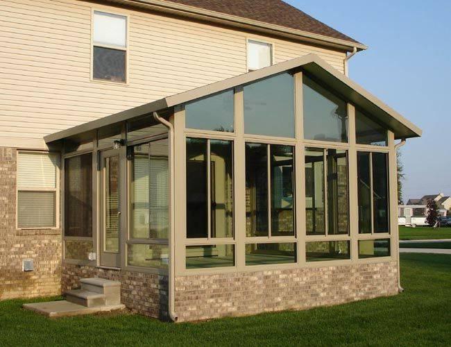 Как пристроить к дому веранду с пластиковыми окнами