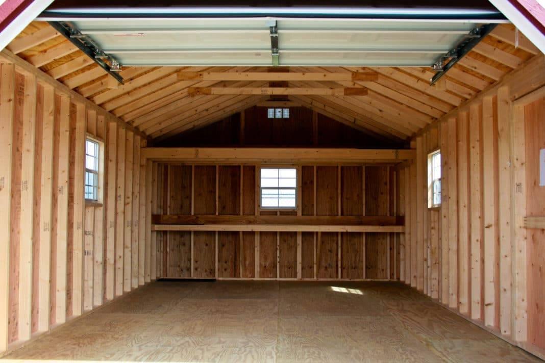 Каркасный гараж из дерева и профиля своими руками: чертежи, пошаговая инструкция с фото и видео - строительство и ремонт