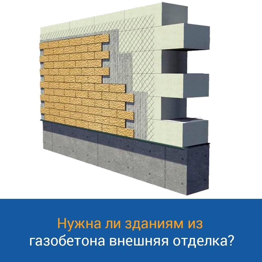 Обзор лучших вариантов отделки фасада дома из газобетонных блоков