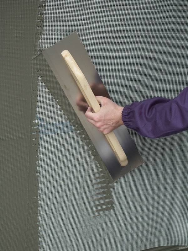 Как крепить штукатурную сетку