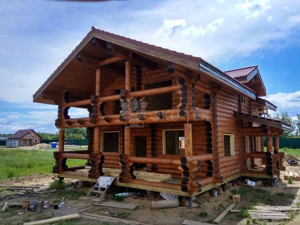 Дома из оцилиндрованных бревен и отзывы владельцев