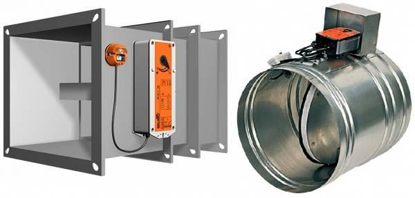 Виды клапанов противопожарных систем вентиляции зданий. как правильно подобрать на объект?