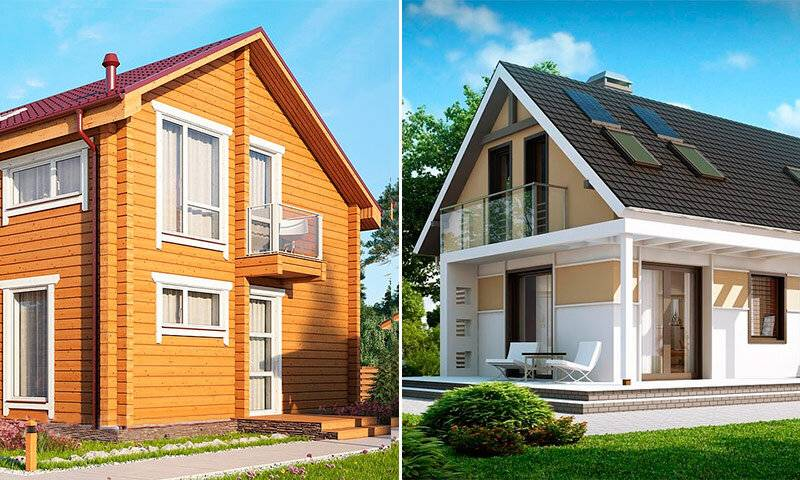 Какой дом лучше – каркасный или брусовой? сравнительная таблица