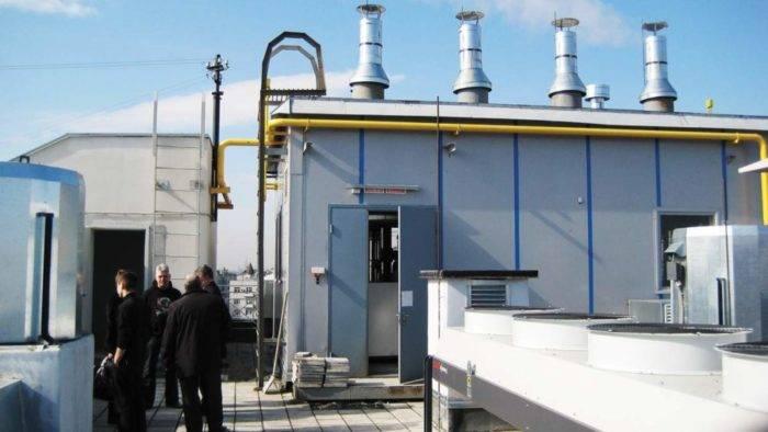 Монтаж и эксплуатация газовой крышной котельной в многоквартирном доме